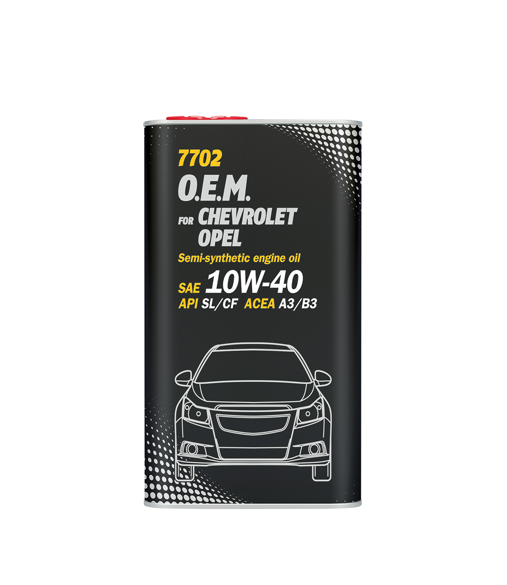 O.E.M. for Chevrolet Opel 10W-40