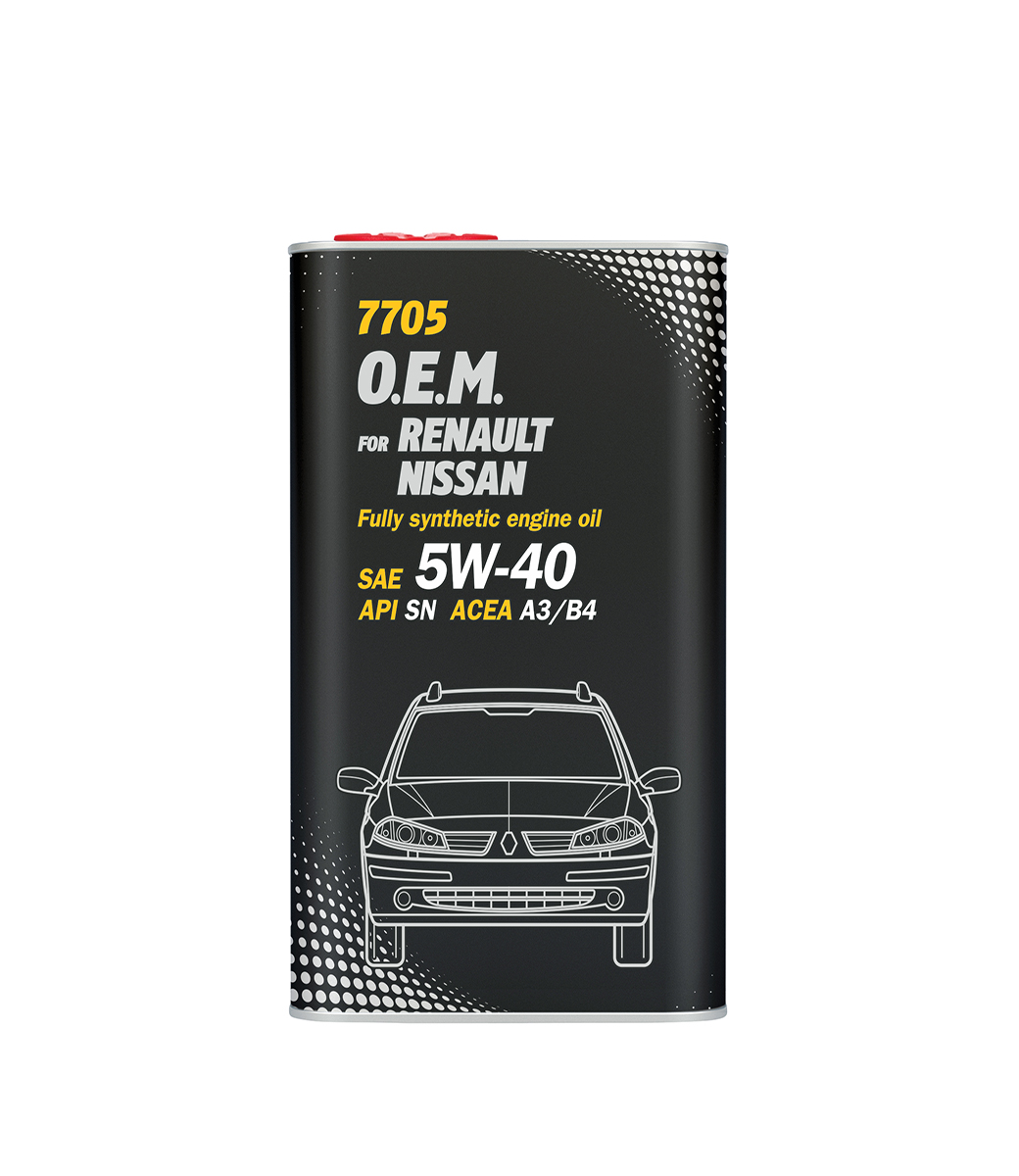 O.E.M. for Renault Nissan 5W-40