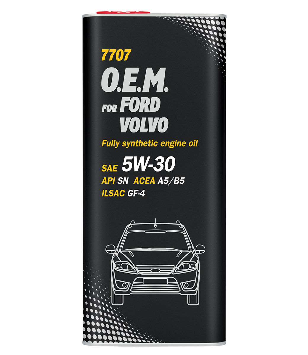 O.E.M. for Ford Volvo 5W-30