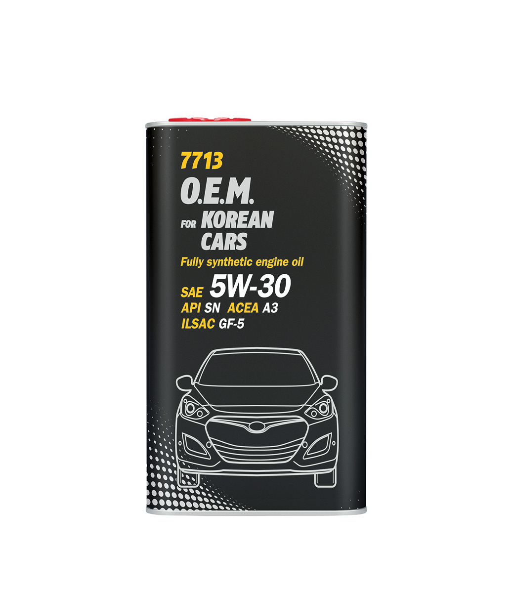 O.E.M. for Korean cars 5W-30