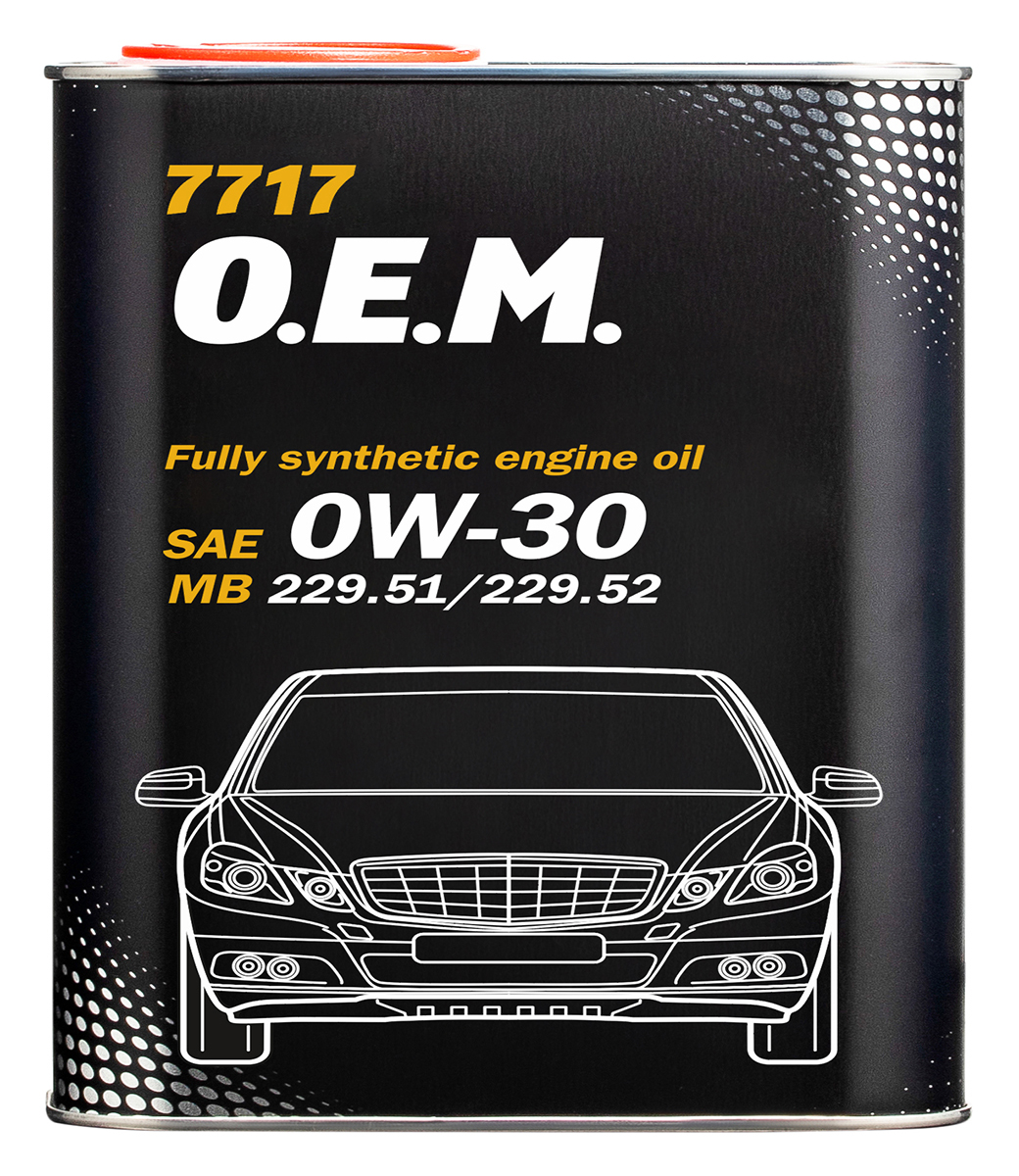 O.E.M. for Mercedes-Benz 0W-30