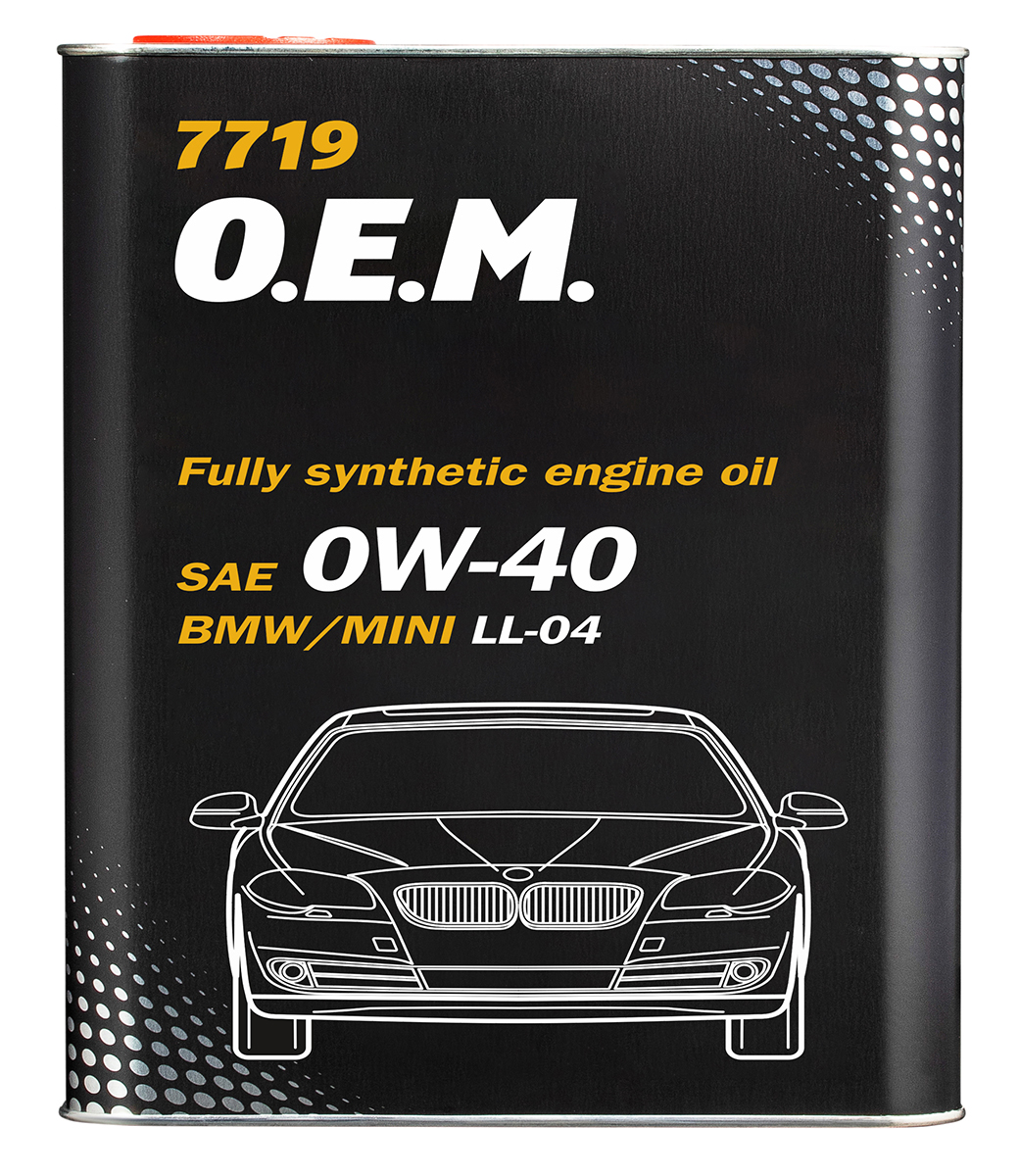 O.E.M. for BMW Mini 0W-40