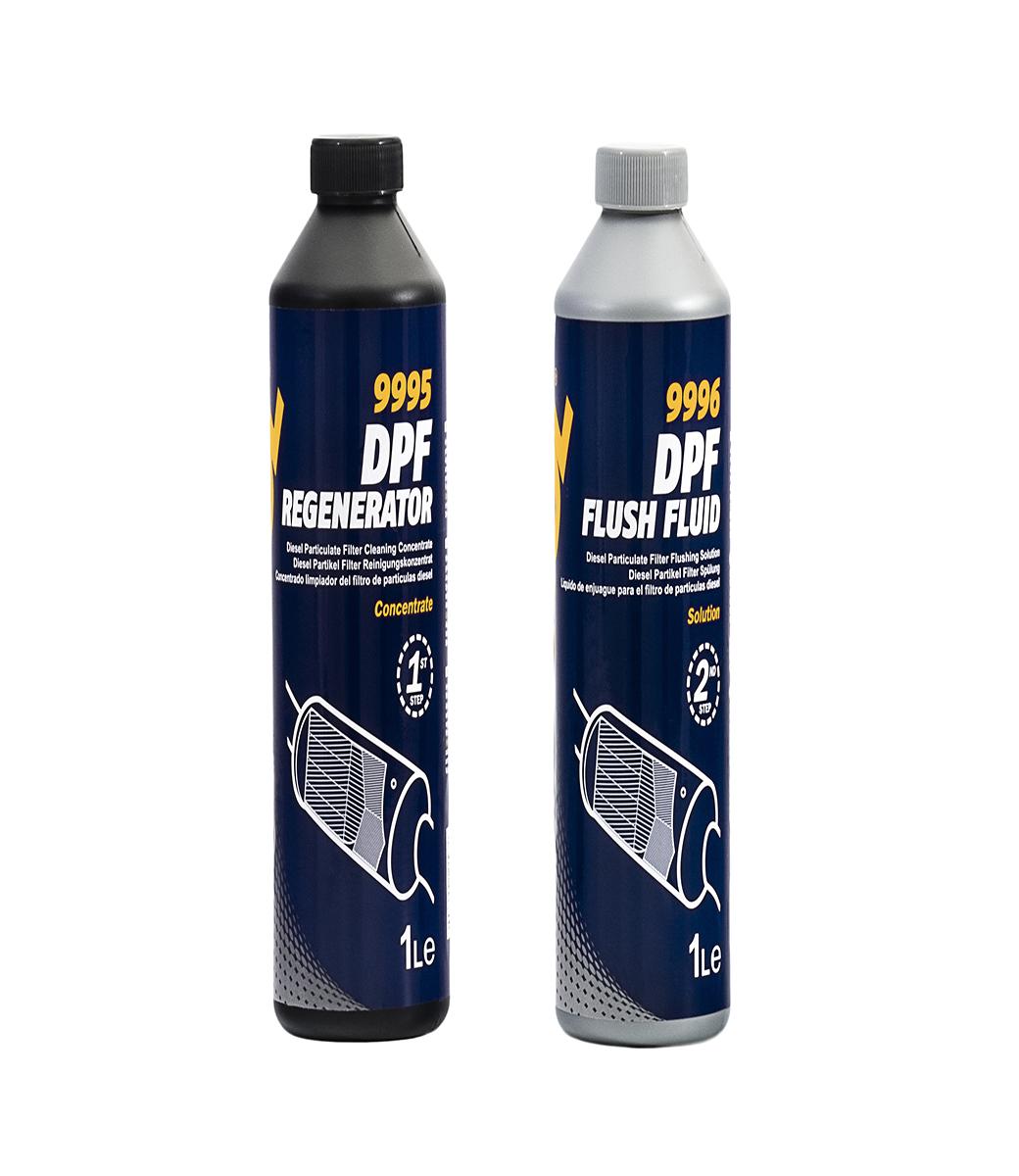 DPF Regenerator & Flush Fluid