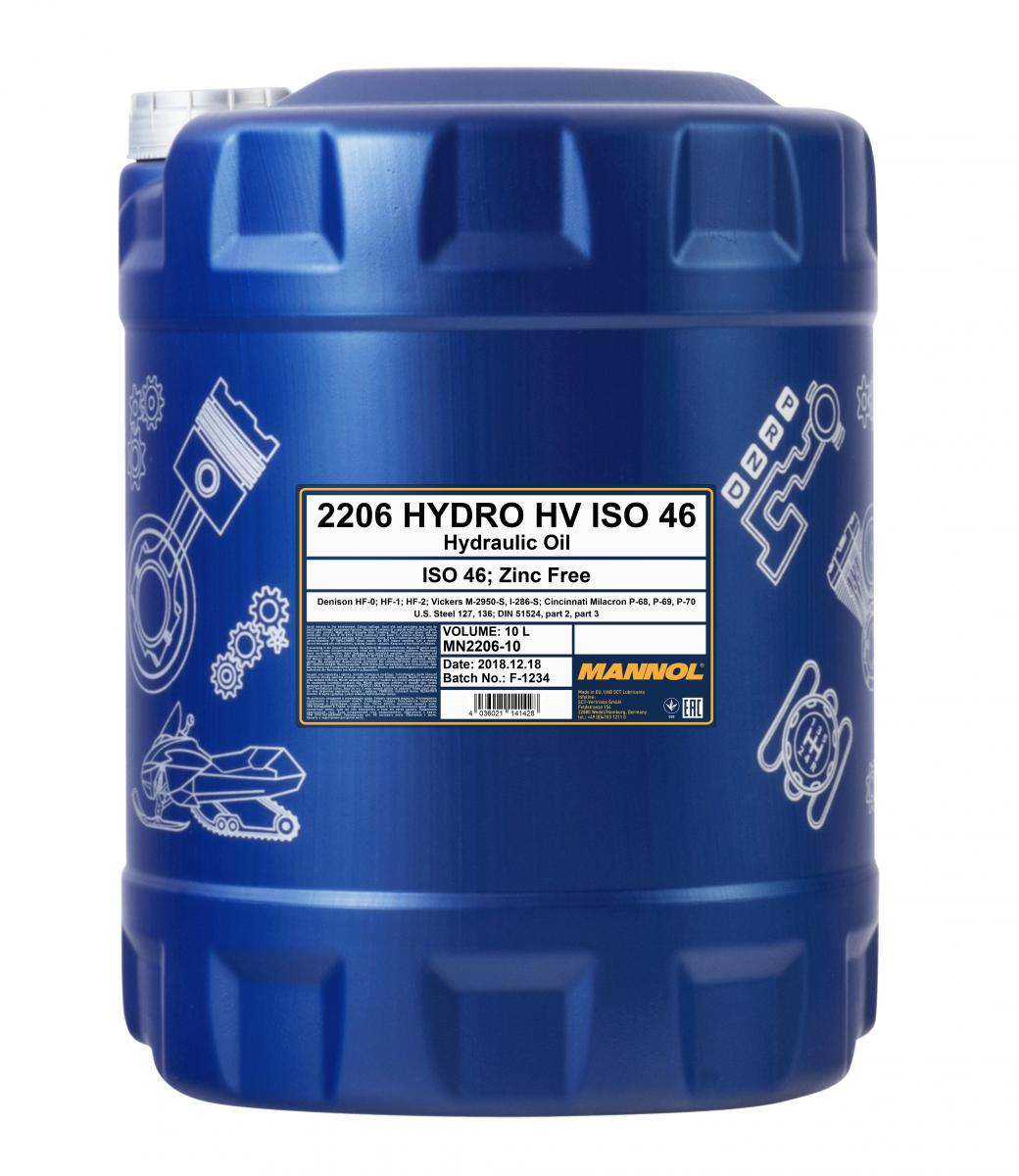 Hydro HV ISO 46 Zinc Free