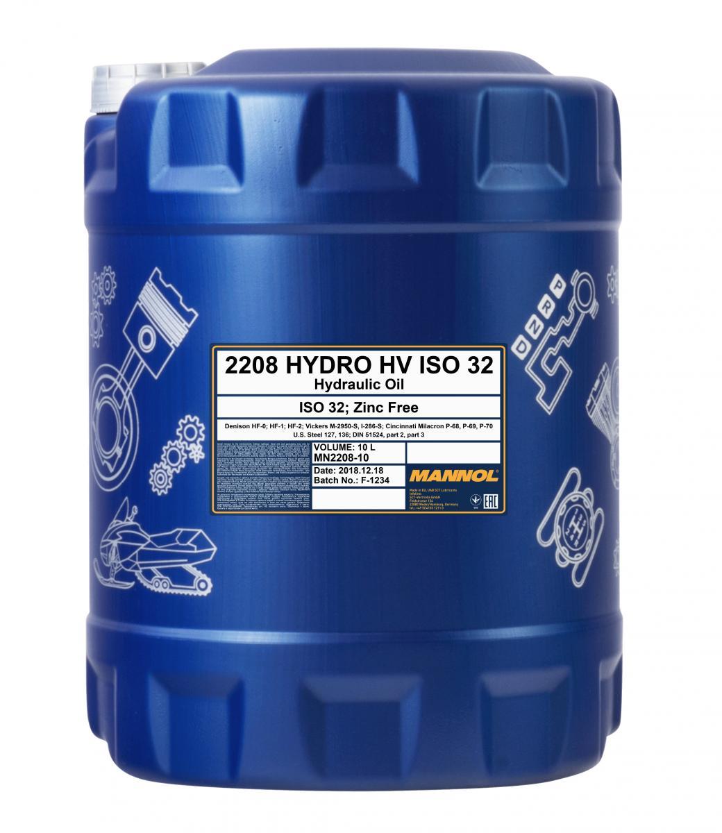Hydro HV ISO 32 Zinc Free