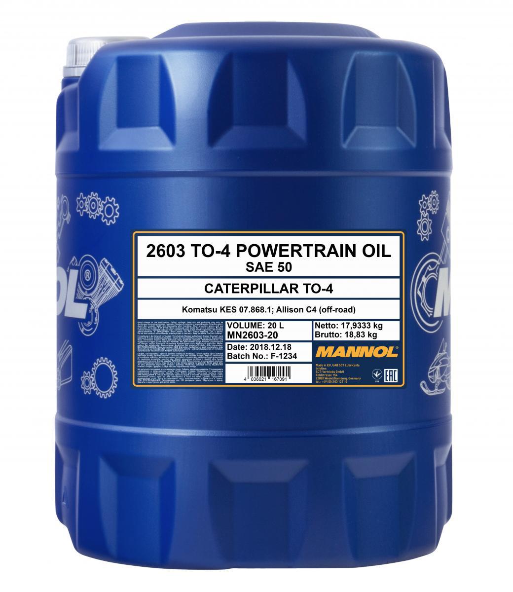TO-4 Powertrain Oil SAE 50