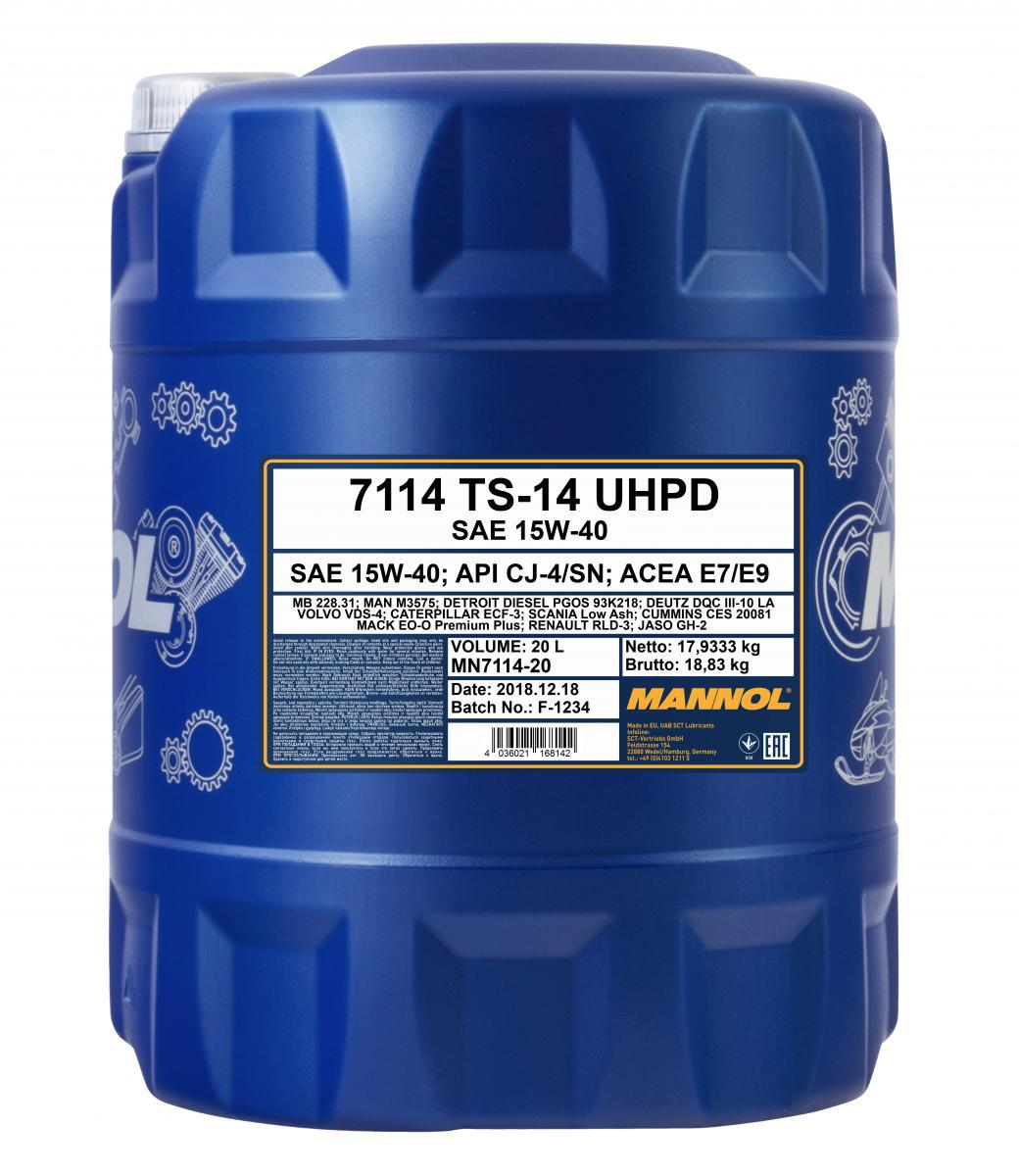 TS-14 UHPD 15W-40