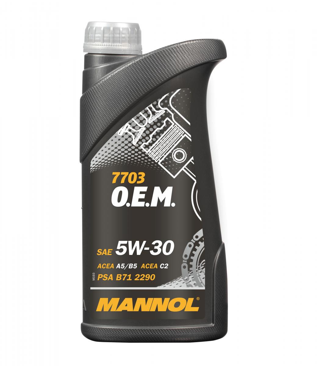 O.E.M. for Peugeot Citroen 5W-30