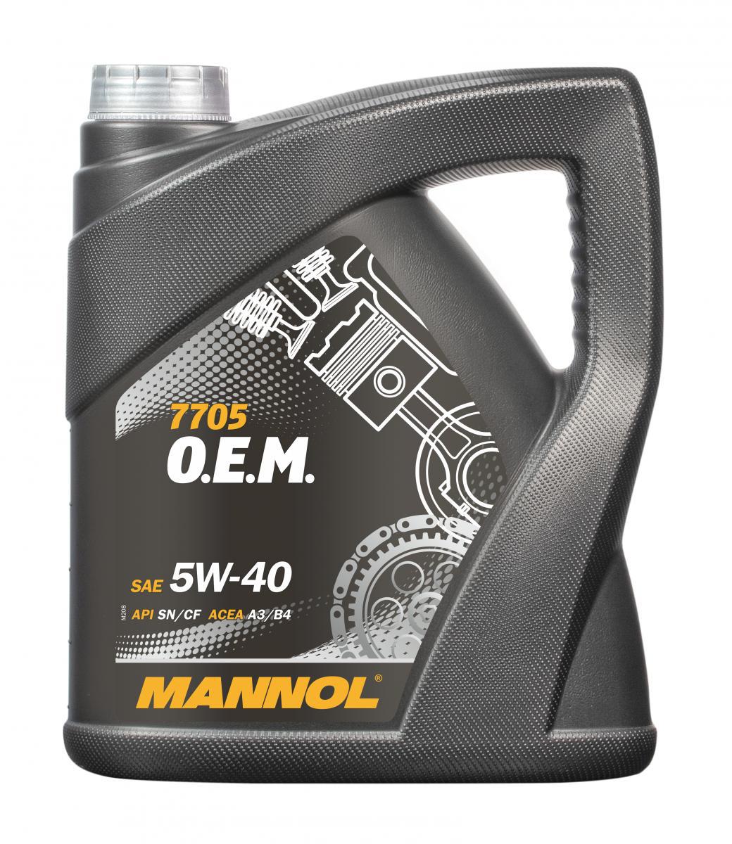 O.E.M. for Renault Nissan 5W-40