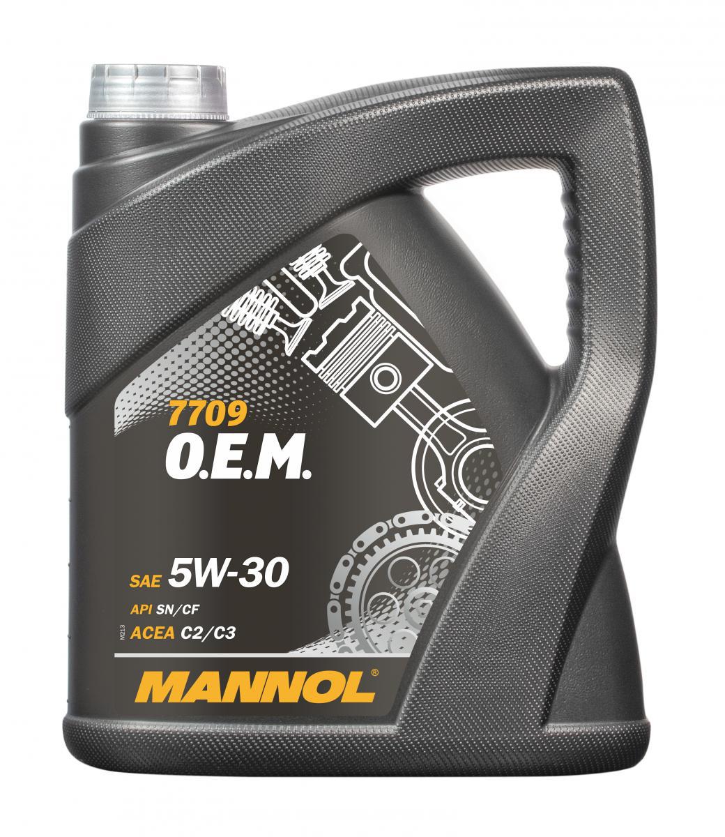 O.E.M. for Daewoo GM 5W-40