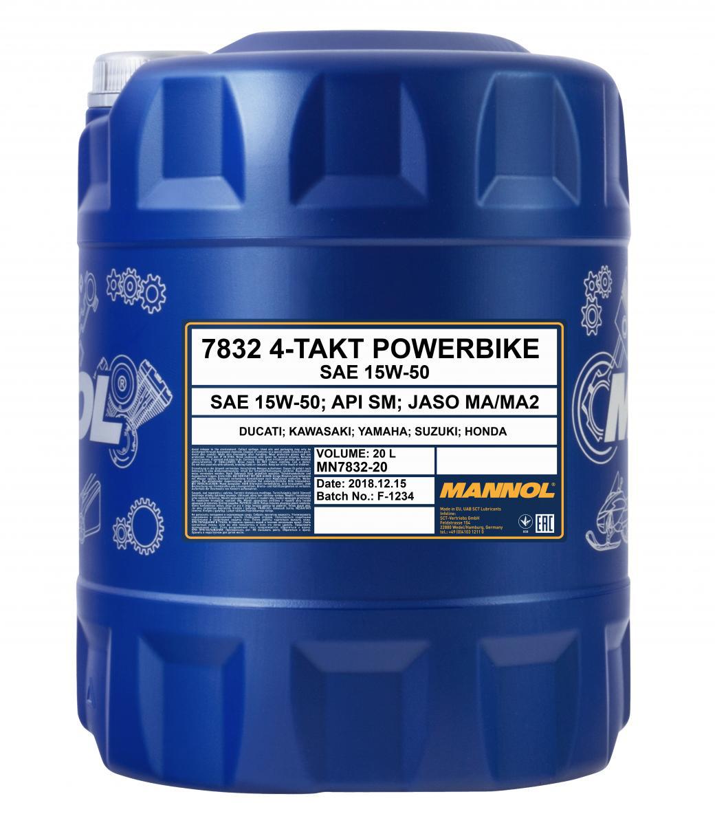 4-Takt Powerbike 15W-50