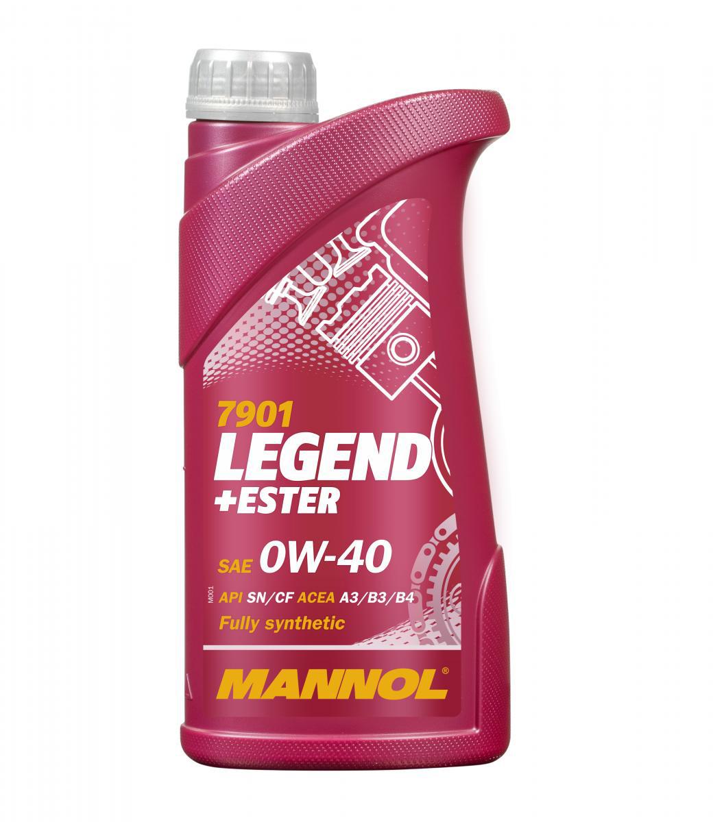 Legend+Ester 0W-40