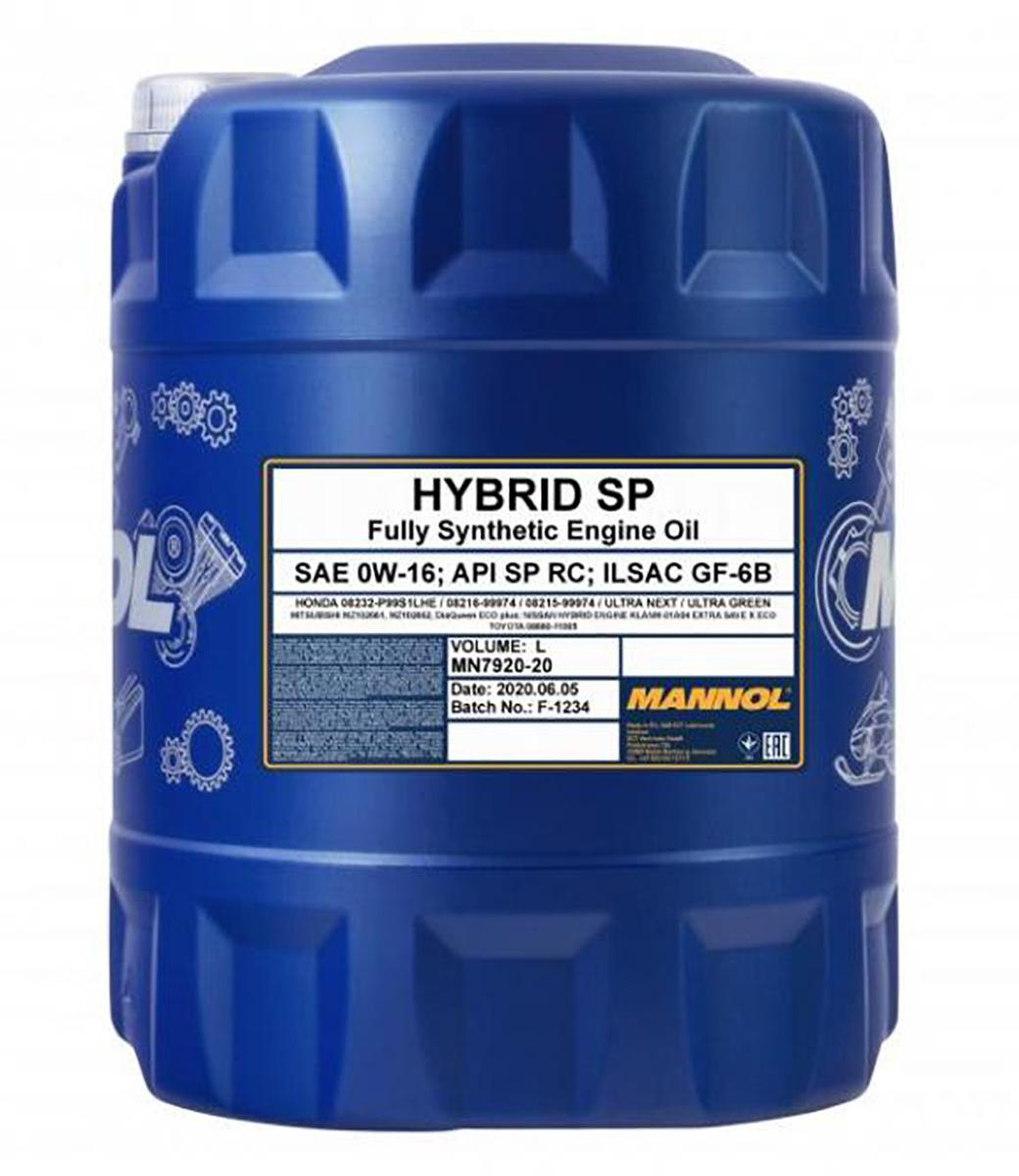 Hybrid SP 0W-16