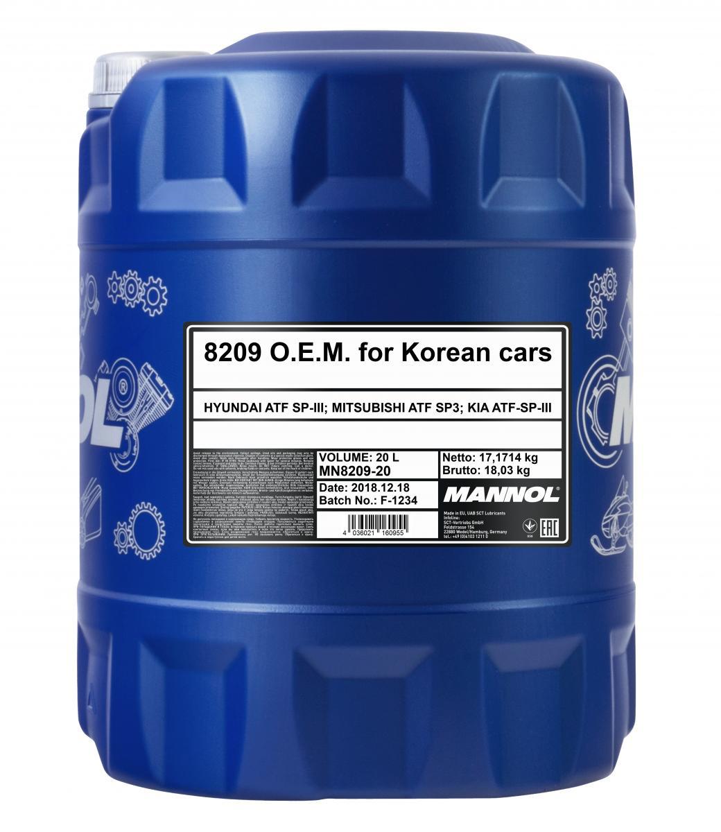 O.E.M. for Korean Cars
