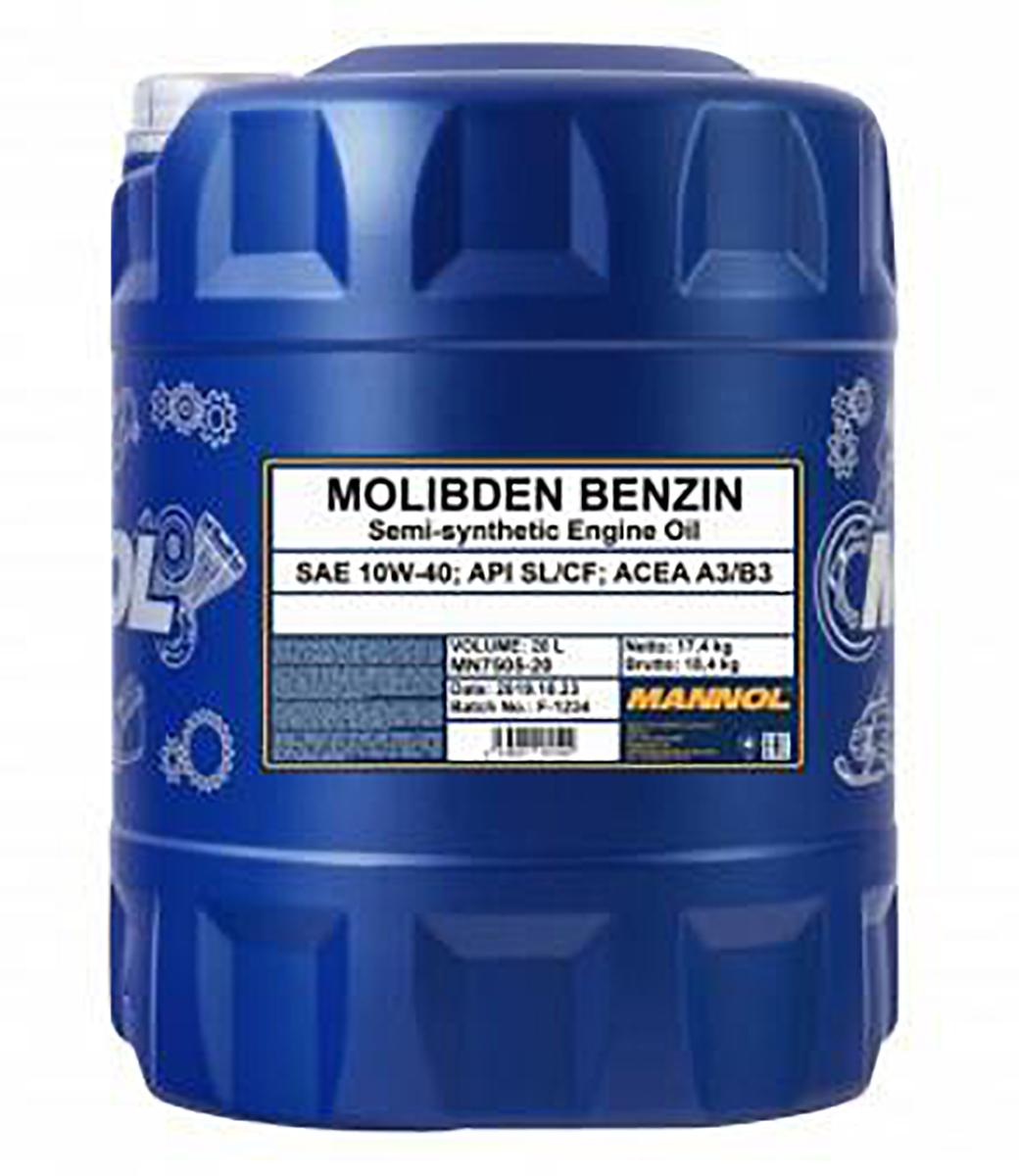 Molibden Benzin 10W-40