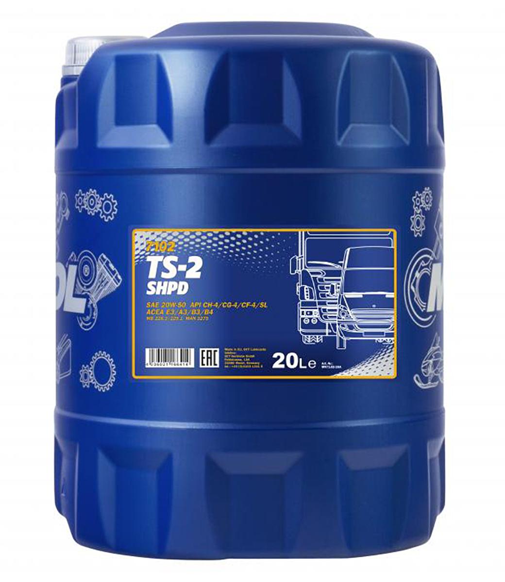 TS-2 SHPD 20W-50