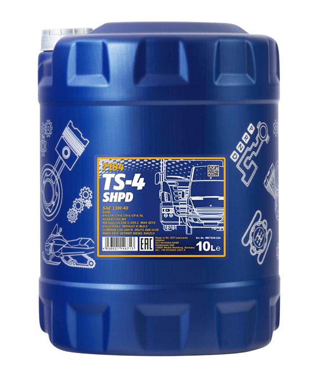 TS-4 SHPD Extra 15W-40