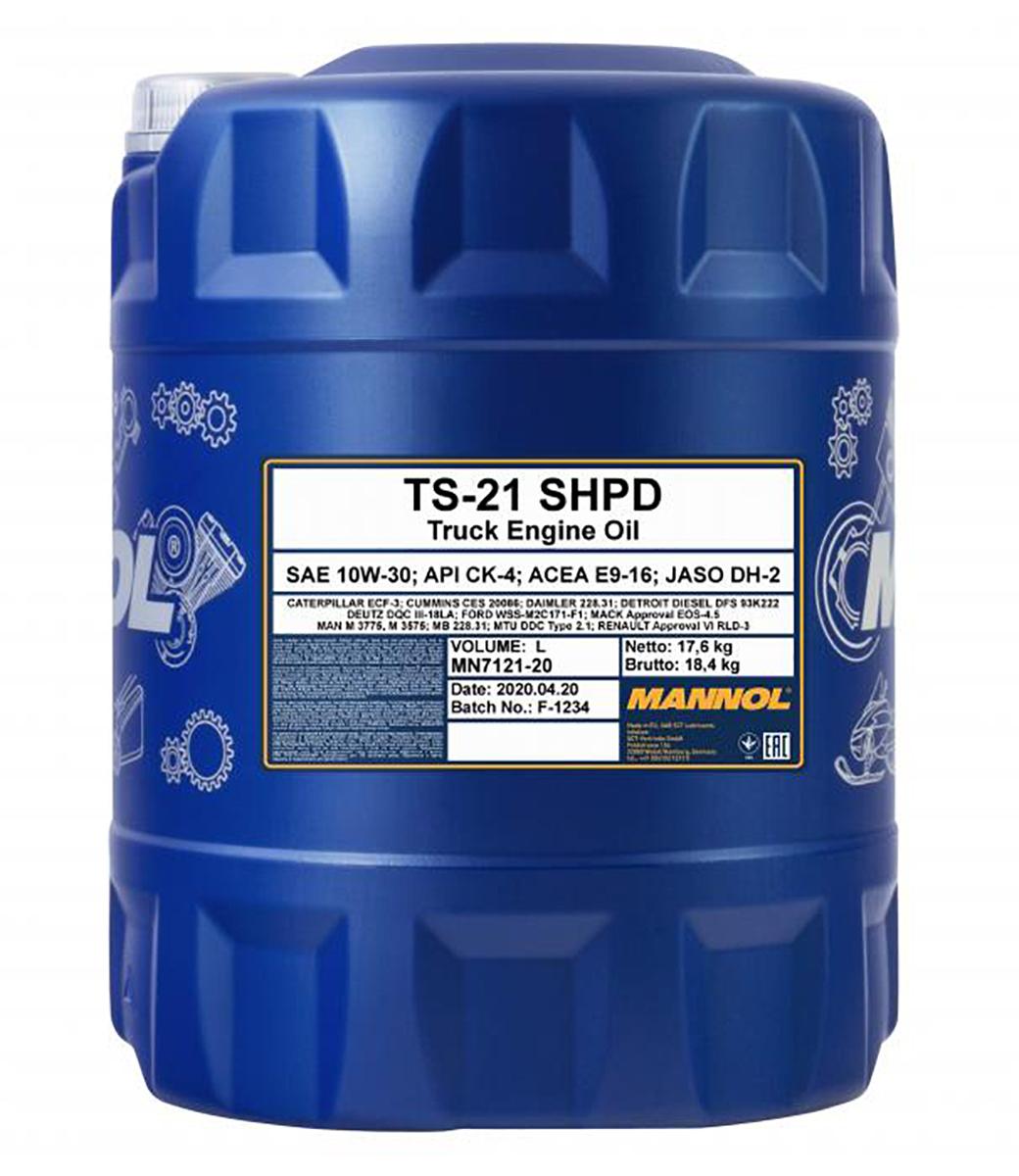 TS-21 SHPD 10W-30
