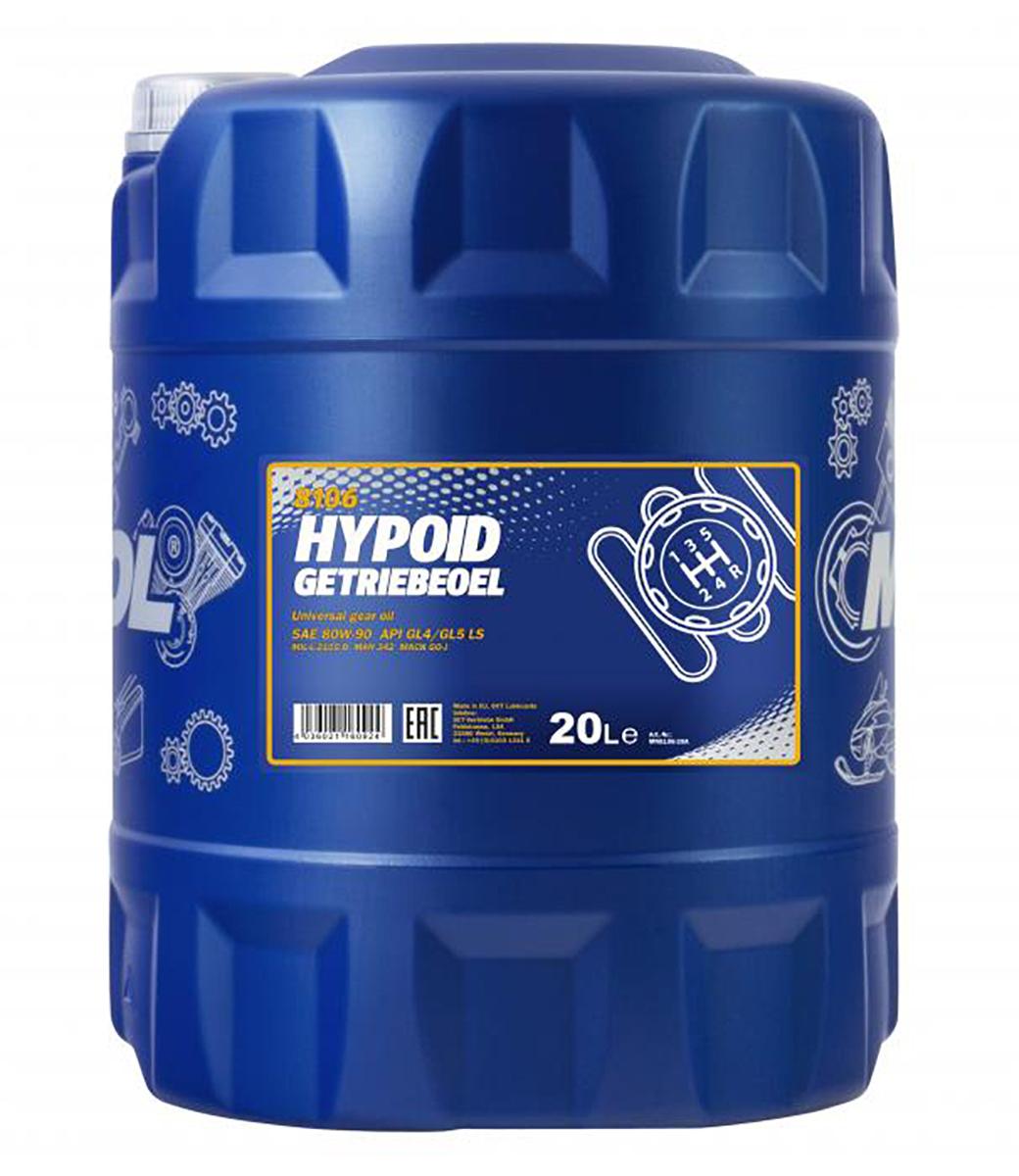 Hypoid Getriebeoel 80W-90