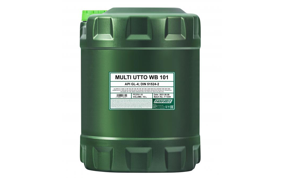 Универсальные трансмиссионные масла для тракторов UTTO