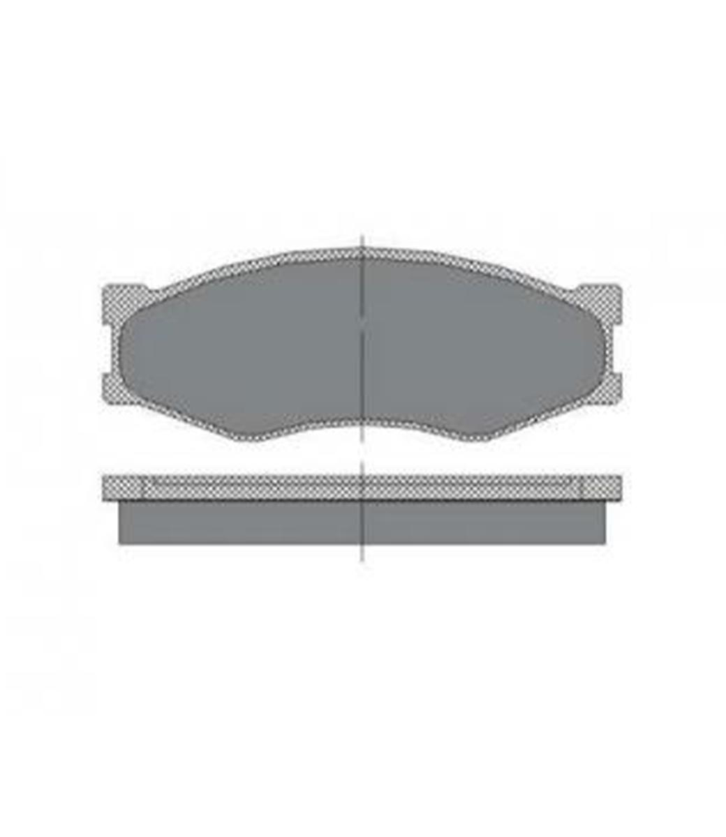 Brake Pad Set, disc brake SP 119 PR