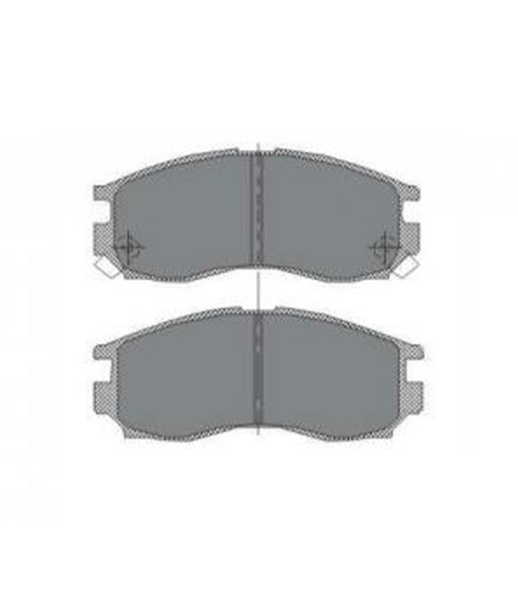 Brake Pad Set, disc brake SP 133 PR