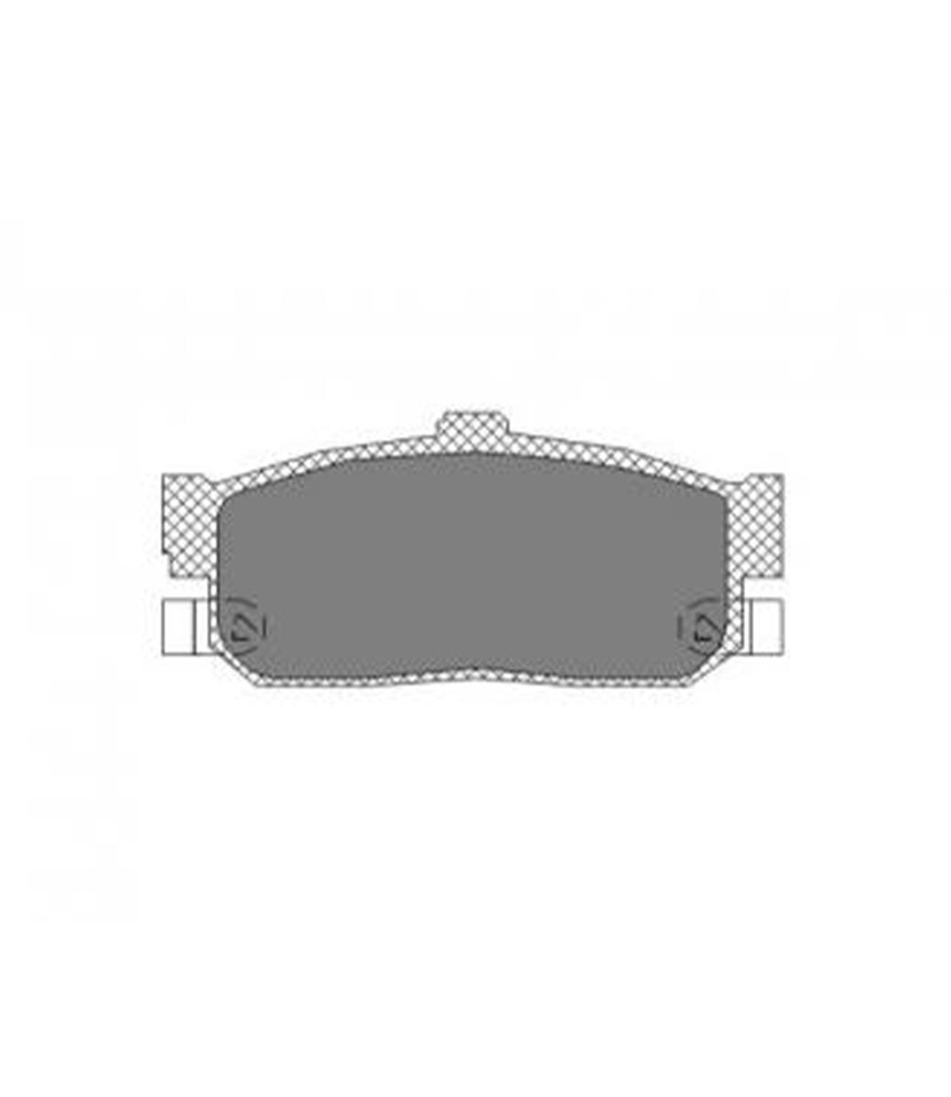 Brake Pad Set, disc brake SP 139 PR