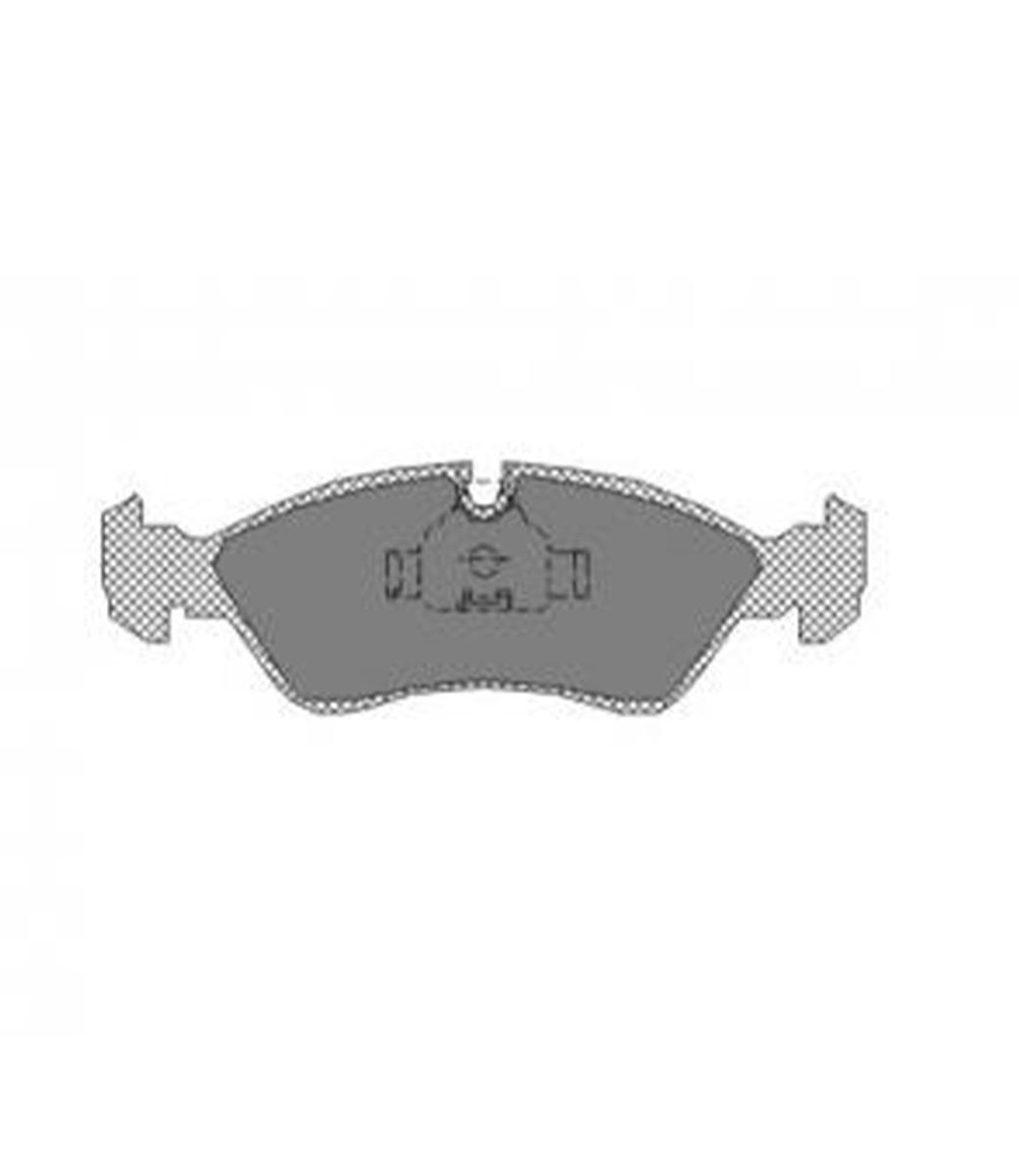 Brake Pad Set, disc brake SP 158 PR