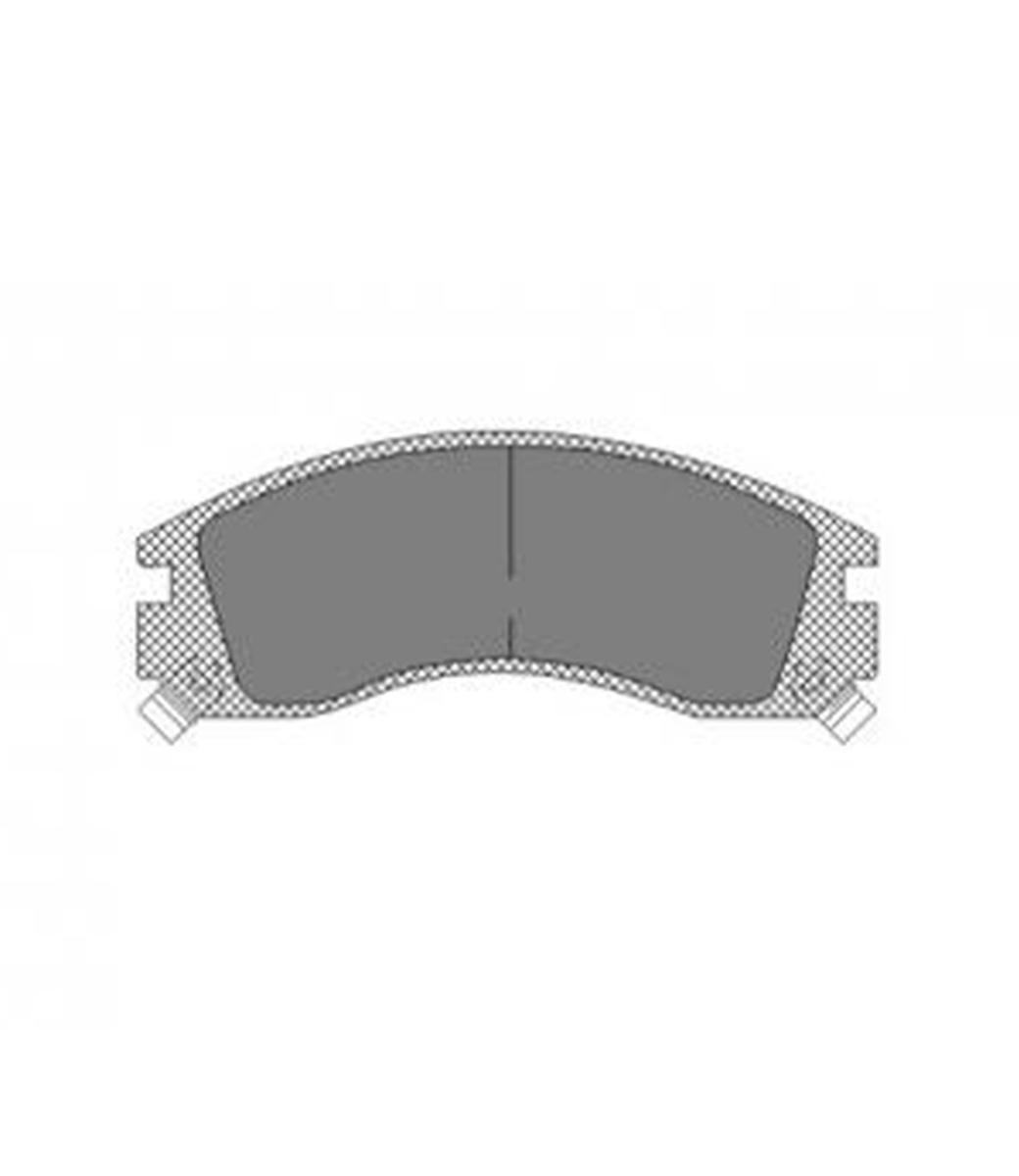 Brake Pad Set, disc brake SP 171 PR