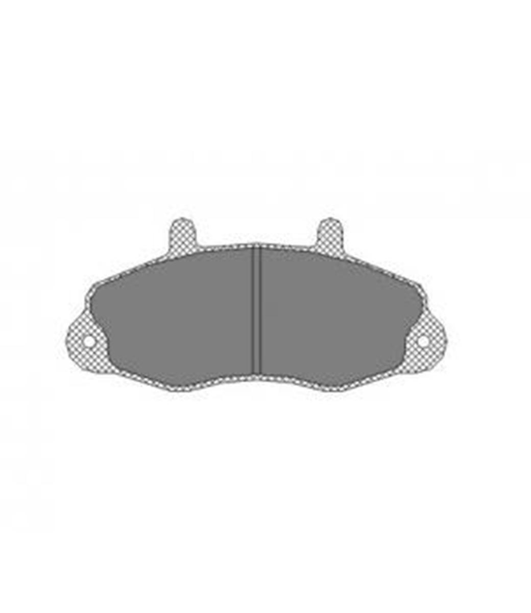 Brake Pad Set, disc brake SP 173 PR