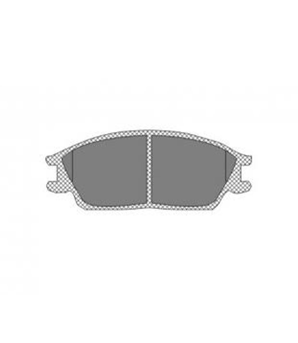 Brake Pad Set, disc brake SP 207 PR