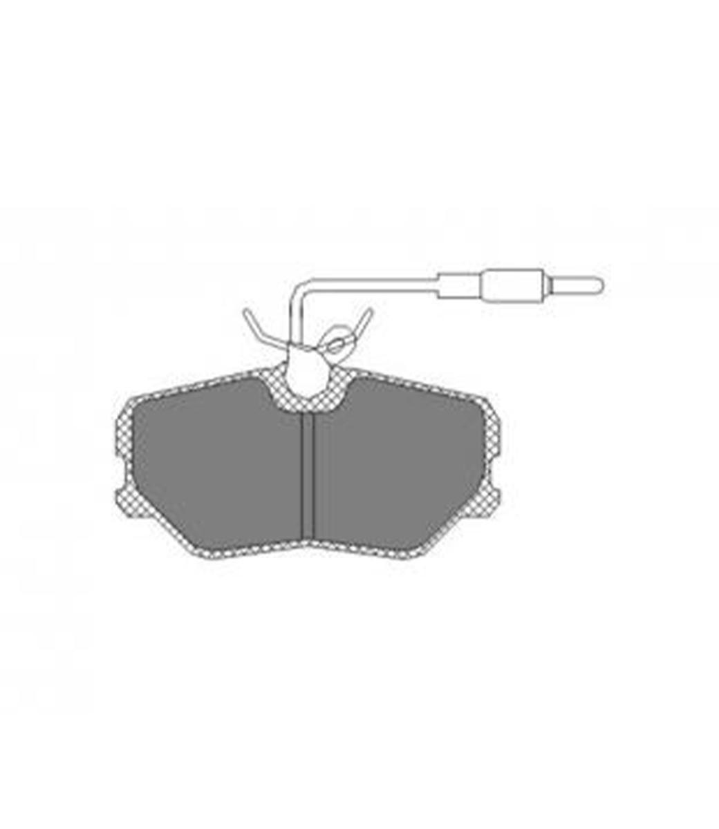 Brake Pad Set, disc brake SP 221 PR