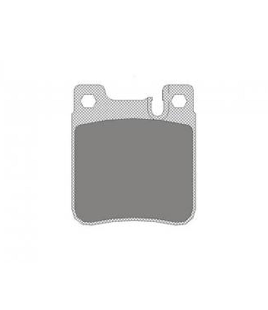 Brake Pad Set, disc brake SP 255 PR