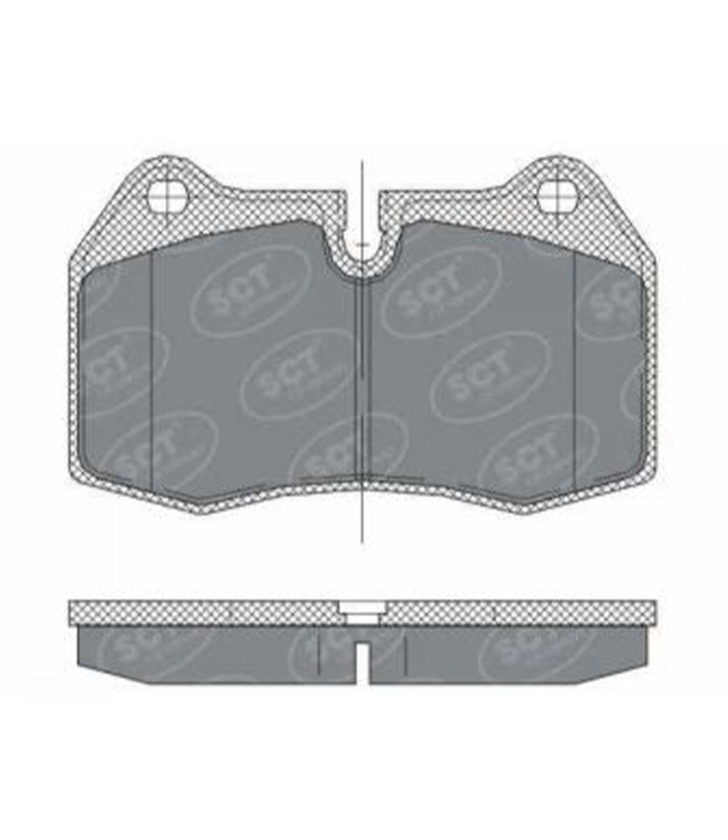 Brake Pad Set, disc brake SP 272 PR