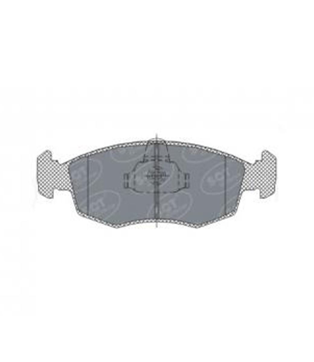 Brake Pad Set, disc brake SP 315 PR