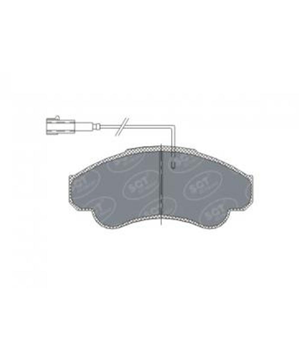 Brake Pad Set, disc brake SP 322 PR