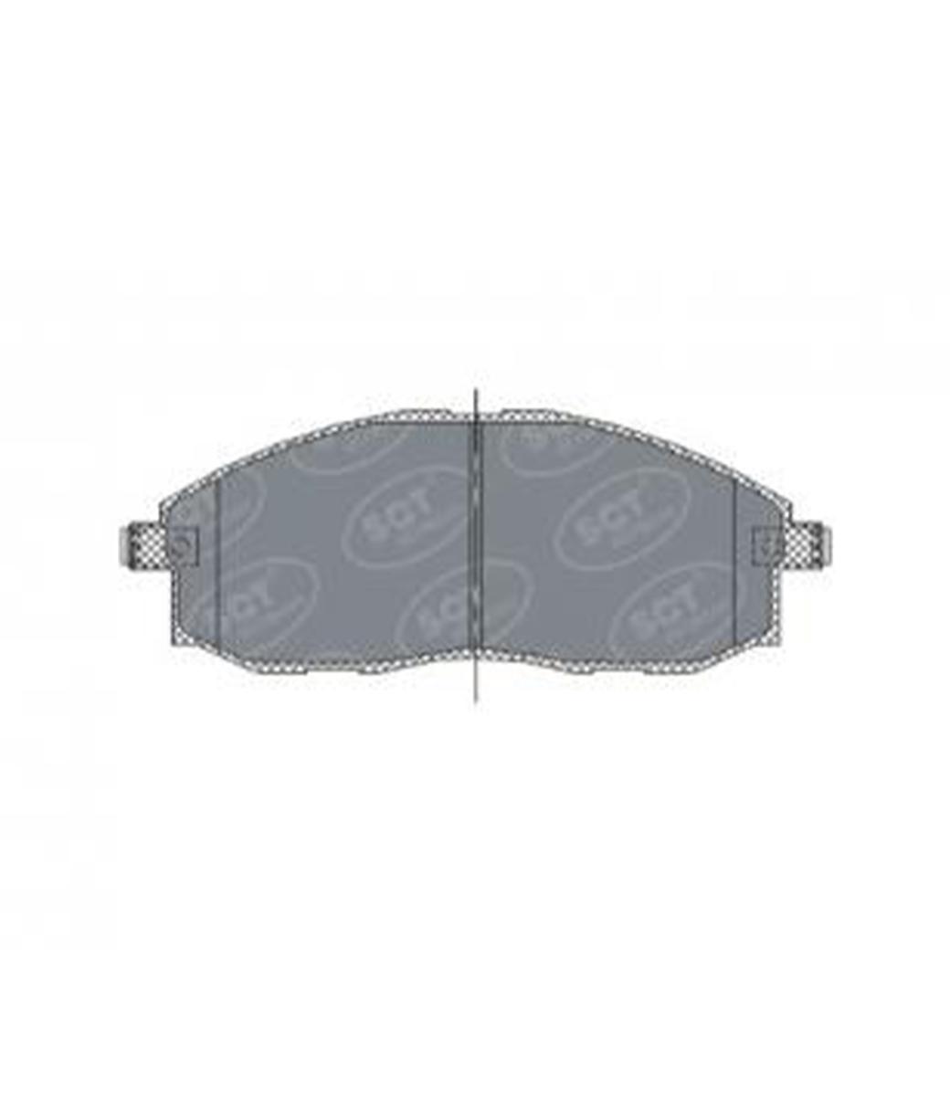 Brake Pad Set, disc brake SP 324 PR