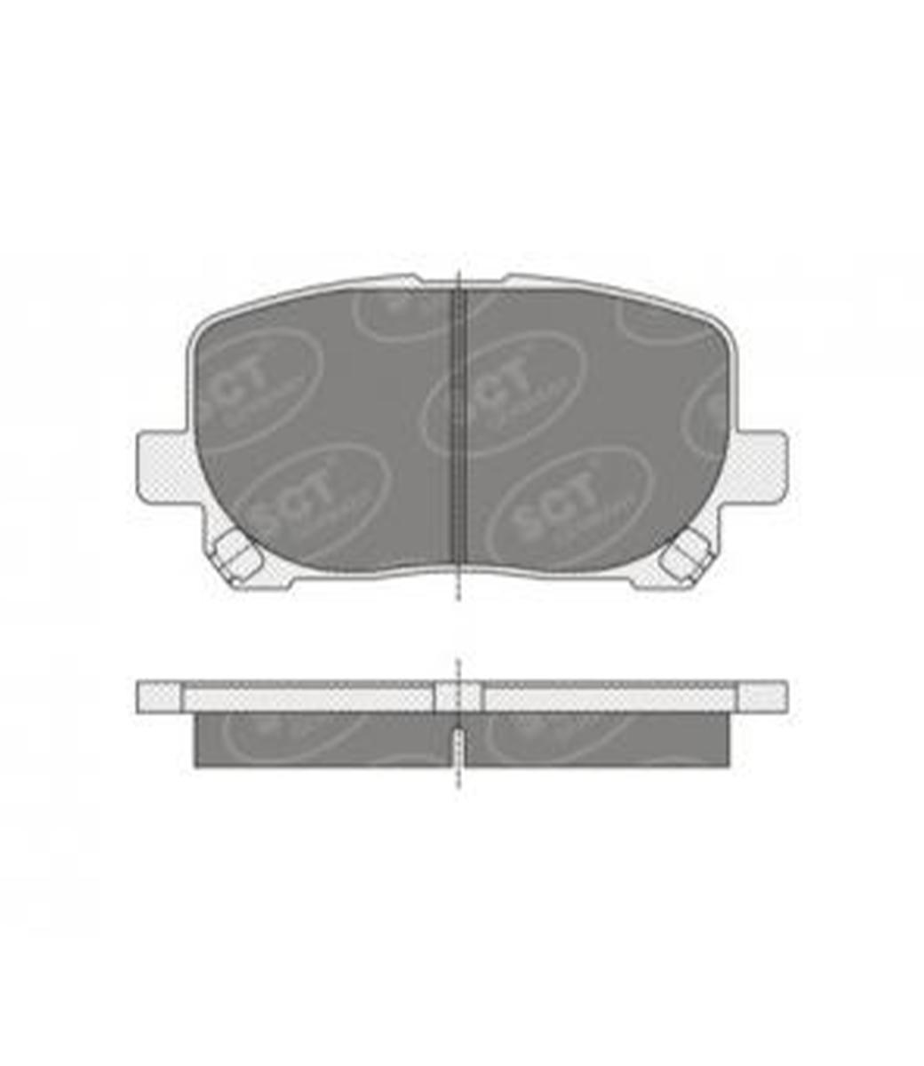 Brake Pad Set, disc brake SP 349 PR