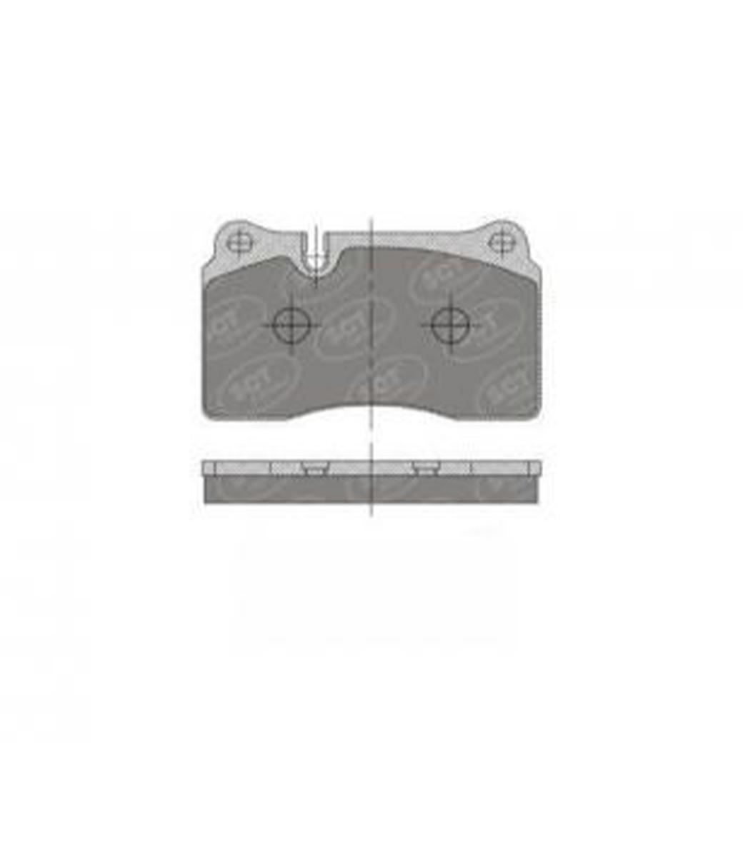 Brake Pad Set, disc brake SP 396 PR