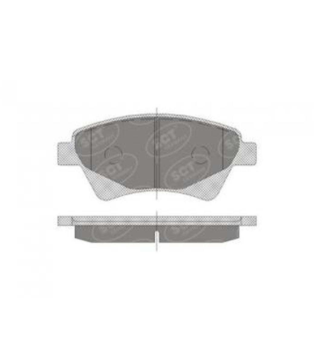Brake Pad Set, disc brake SP 408 PR