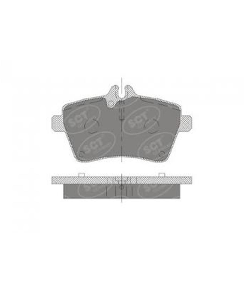 Brake Pad Set, disc brake SP 409 PR