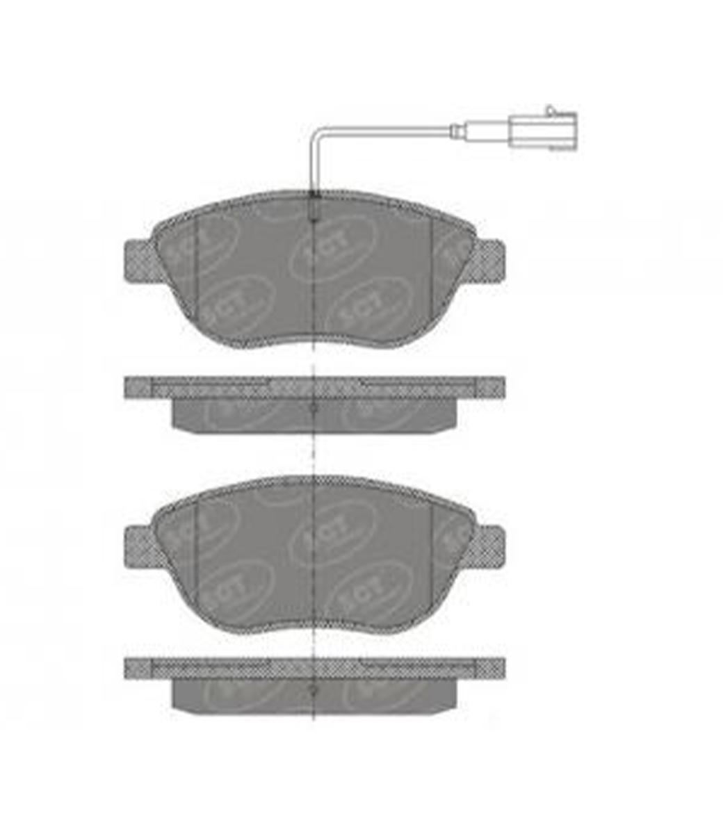 Brake Pad Set, disc brake SP 423 PR