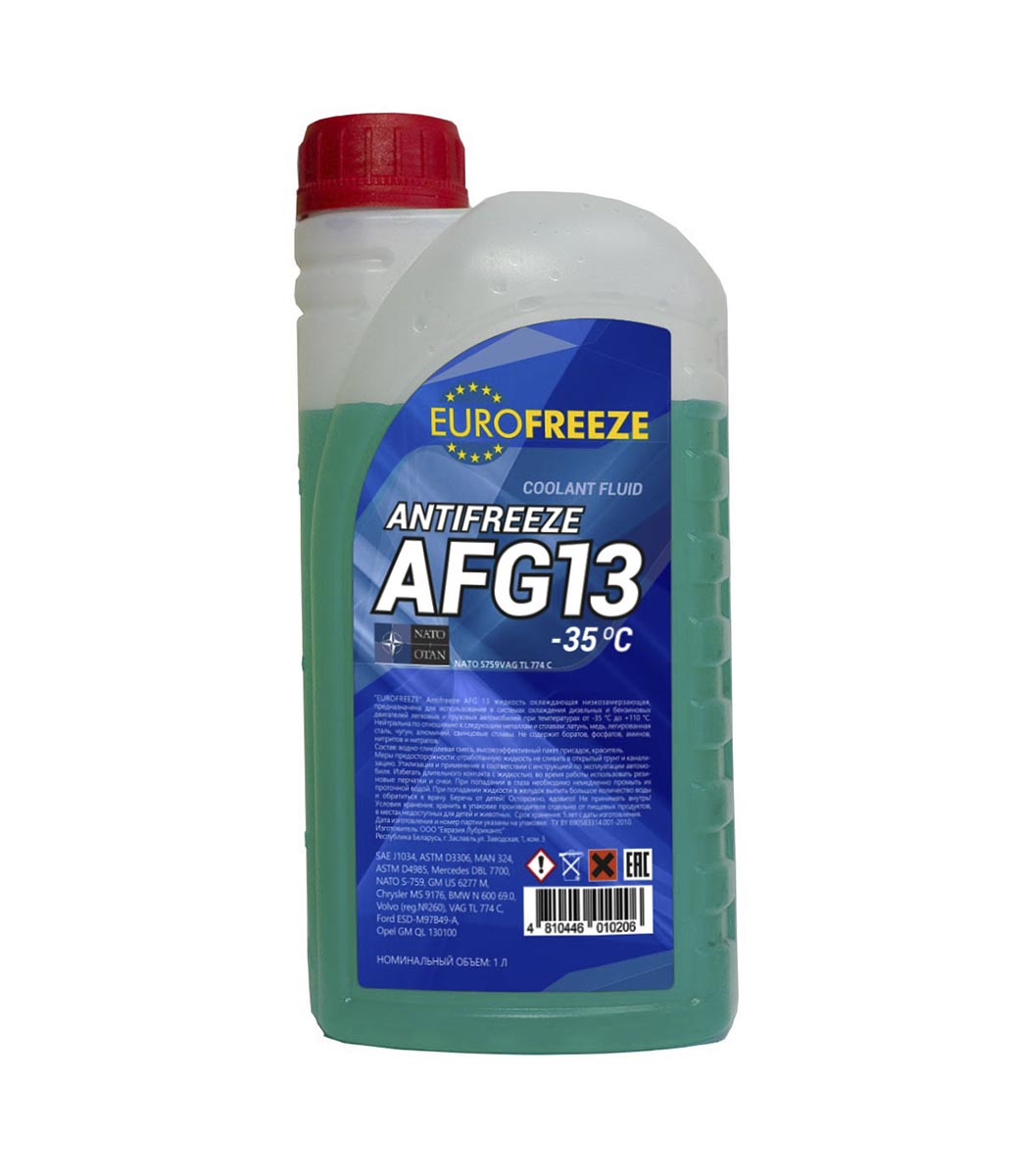 Eurofreeze Antifreeze AFG 13