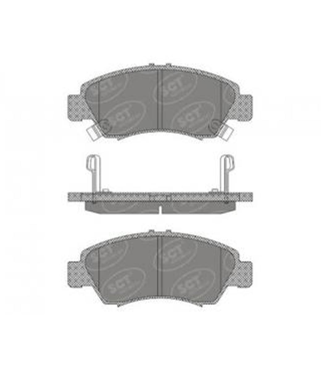 Brake Pad Set, disc brake SP 600 PR