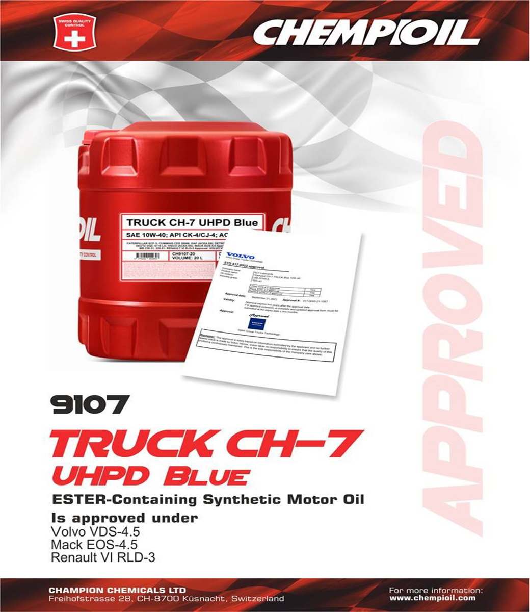 TRUCK CH-7 UHPD BLUE 10W-40